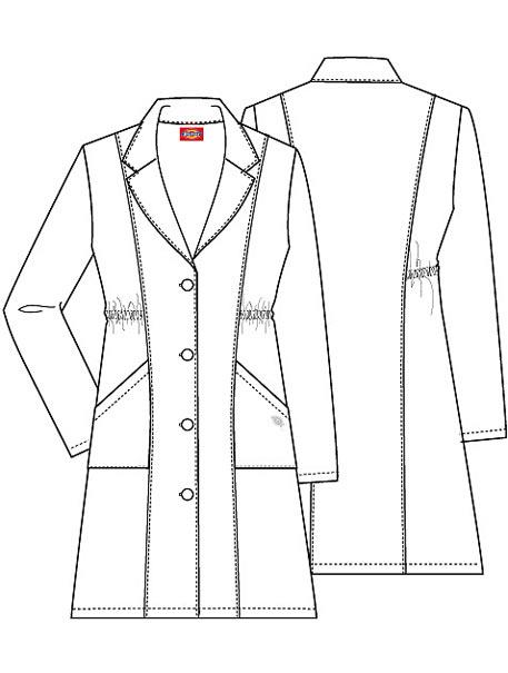 missy fashion lab coat lab coats dickies brands metro Lab Coats for Women missy fashion lab coat sketch model