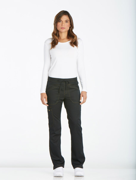 9a62ad0fe3e Essence' Mid Rise Straight Leg Drawstring Pant - Essence - Dickies ...