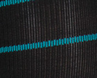 Black/Turq Stripes