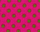 Pink & Green Polka