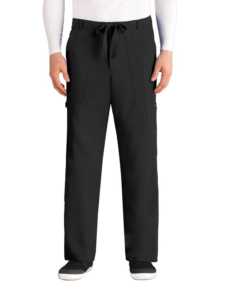Men's 6-Pocket Zip Fly Drawstring Pant