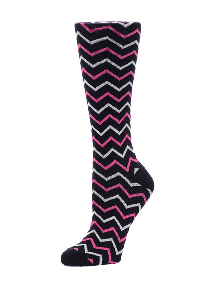 Knee High Knit Compression Socks 15-20 mmHG