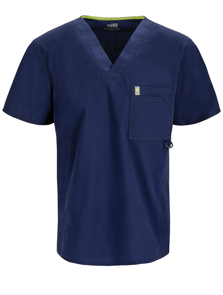 Men's V-Neck Top w/ Antimicrobial