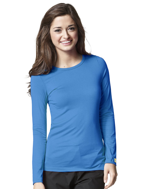 Silky Long-Sleeve Tee