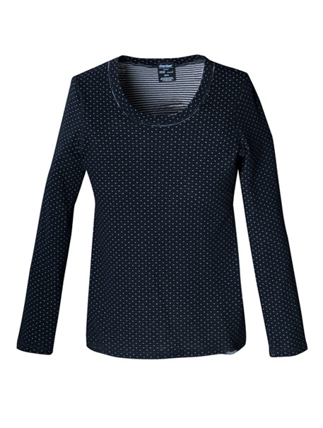 Reversible Knit Top