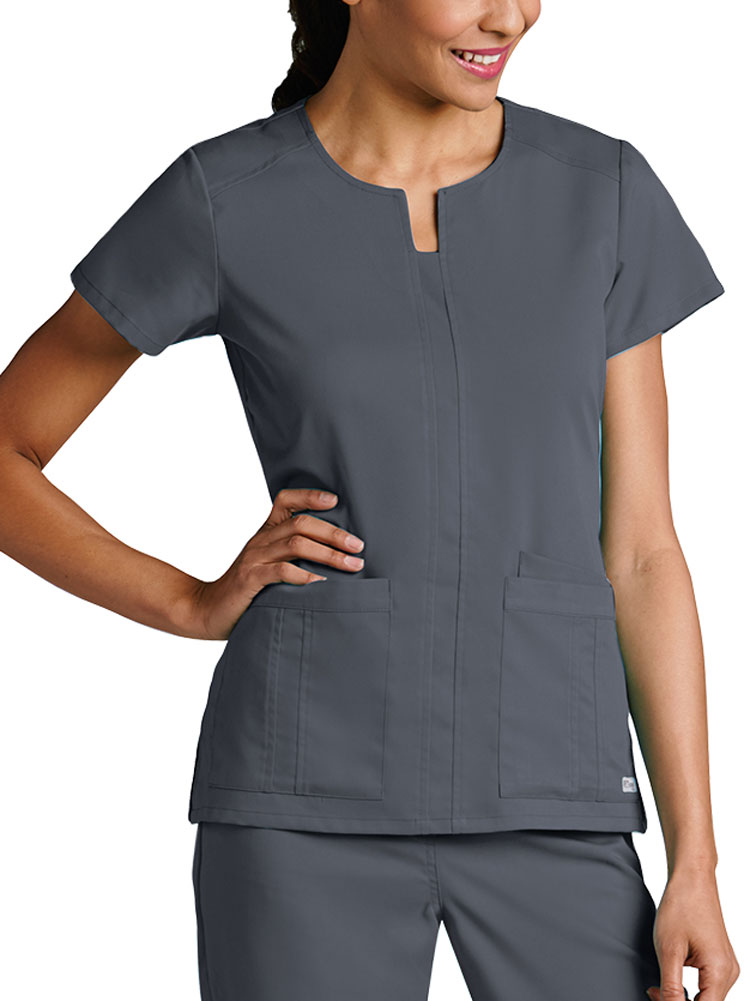 'Grey's Anatomy' Notched Neck Top