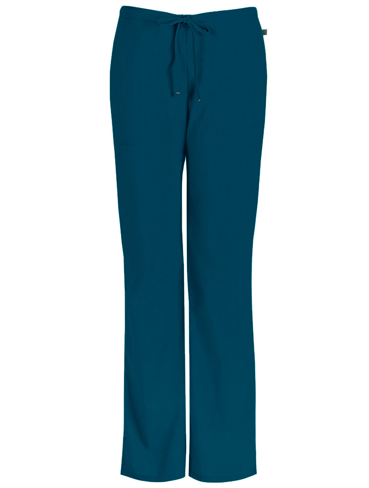 Mid-Rise Drawstring Pant w/ Antimicrobial