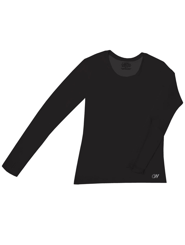 Long Sleeve Crew Neck Knit Underscrub