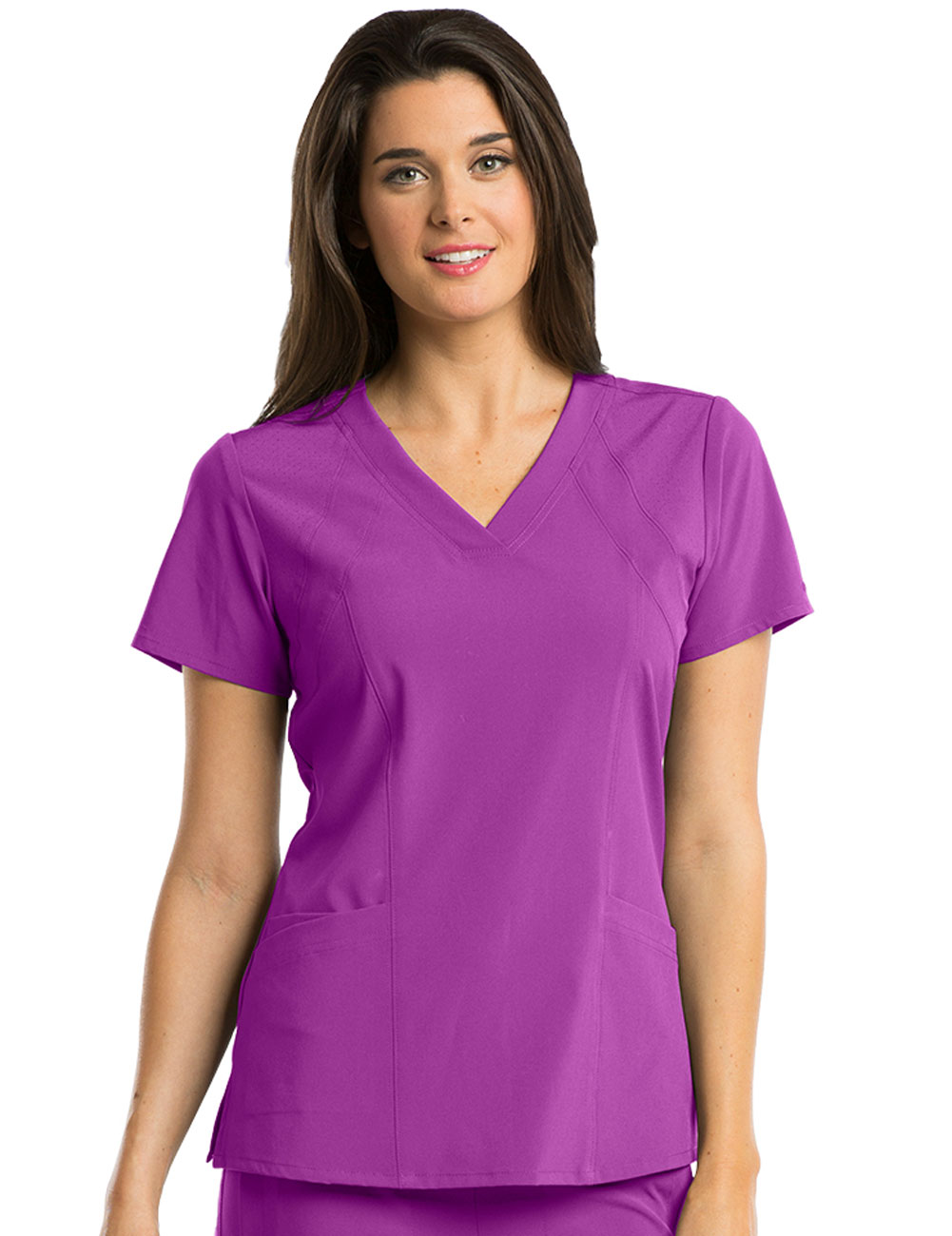 'Barco One' 4-Pocket V-Neck Top