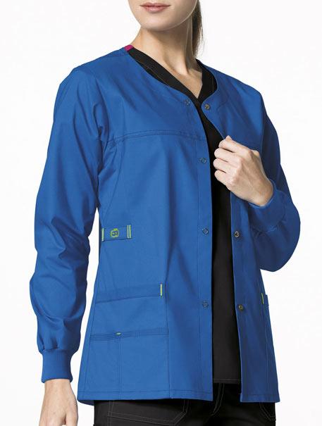 WonderFLEX 'Constance' Snap Front Jacket