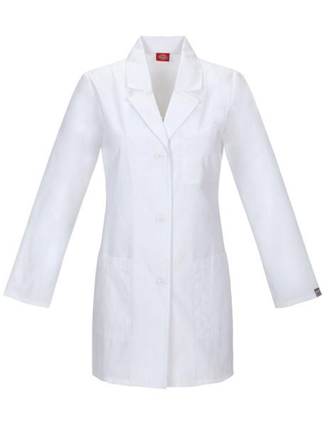 Basic Women's Lab Coat w/ Antimicrobial
