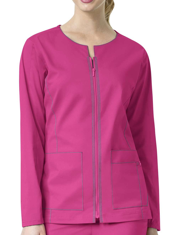 'Seven Flex' Zip Front Jacket