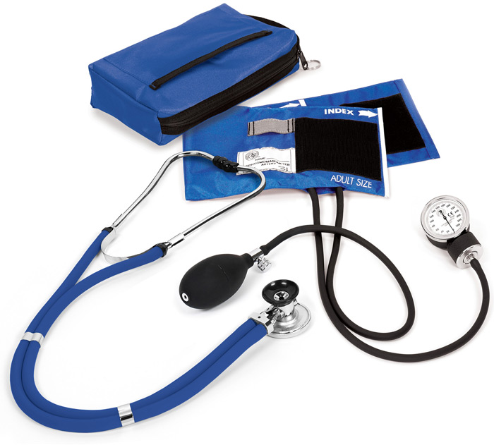 Sphygmomanometer / Sprague Kit With Carrying Case