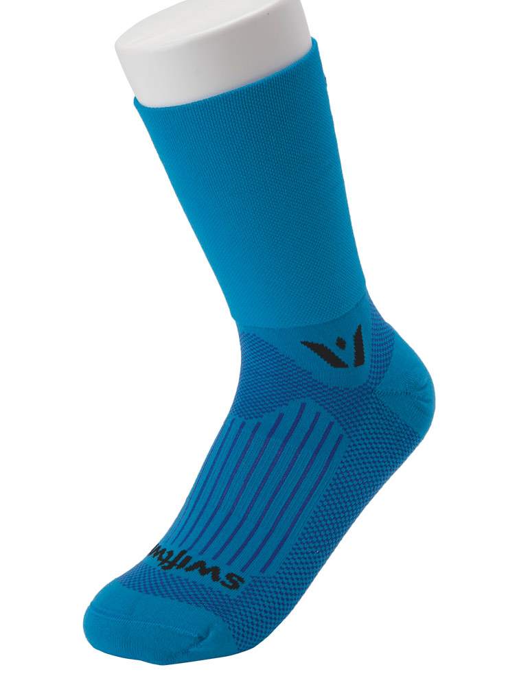 'Aspire Four' Antimicrobial Compression Crew Sock - One Pair