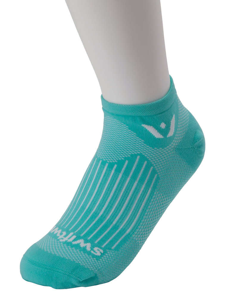 'Aspire Zero' Antimicrobial Compression No Show Sock - One Pair
