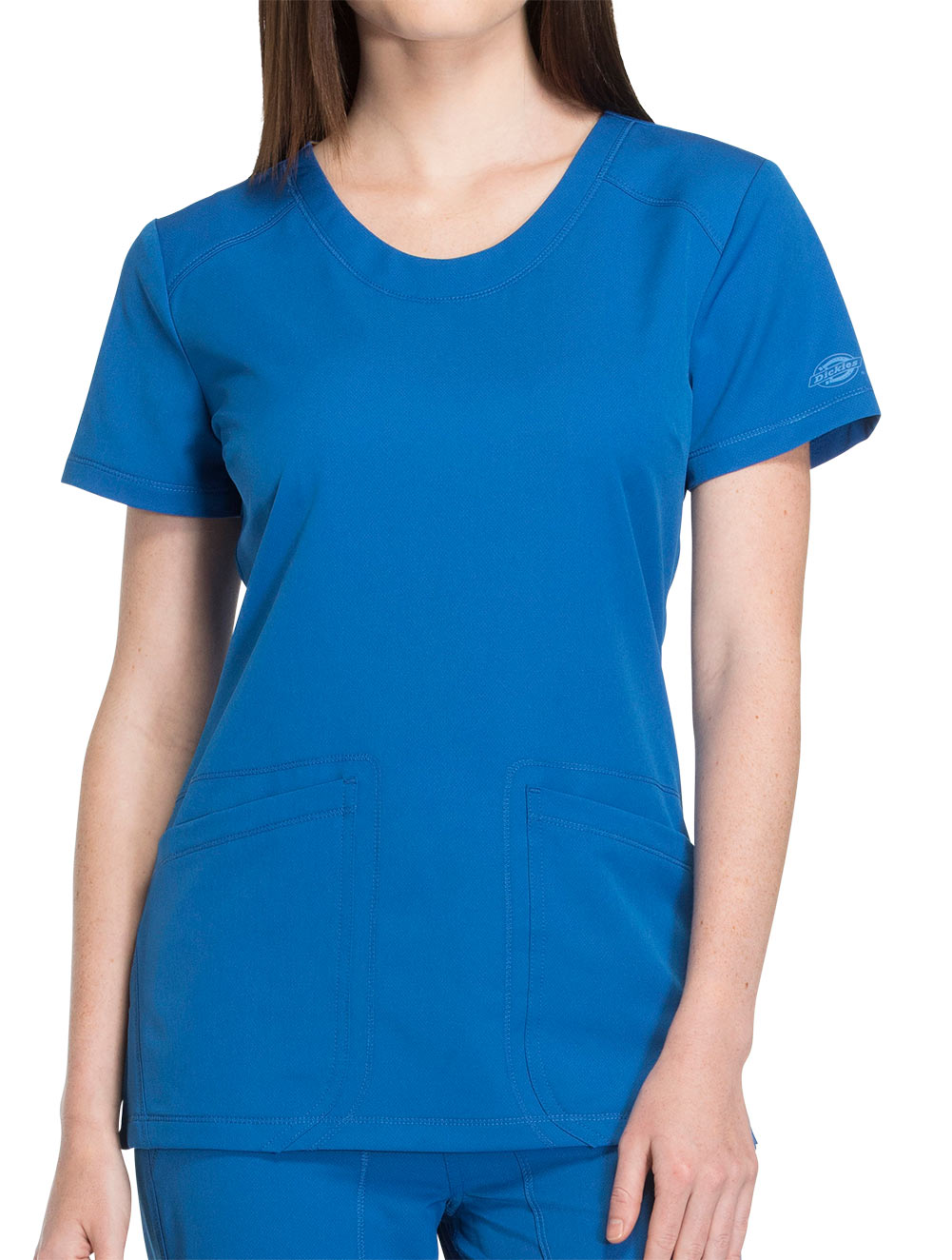 'Dynamix' Rounded V-Neck Top