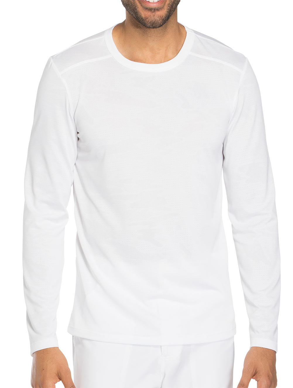 'Dynamix' Men's Long Sleeve Knit Underscrub