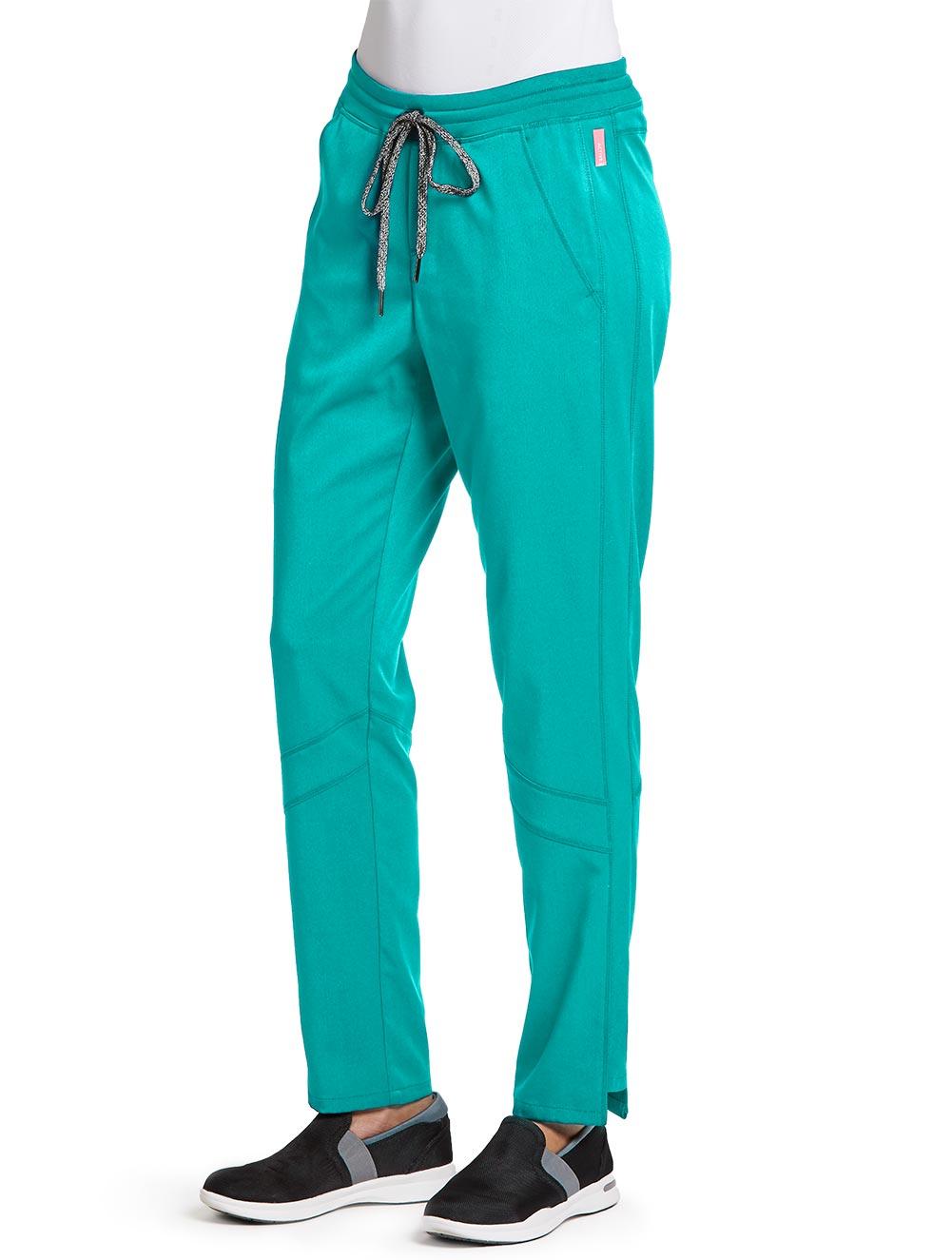 'Grey's Anatomy Spandex Stretch' Knit Waist Midrise Cargo Pant