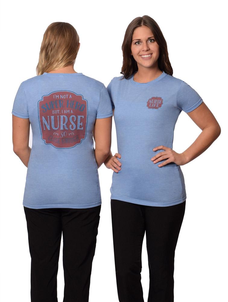 Super Hero Nurse Tee