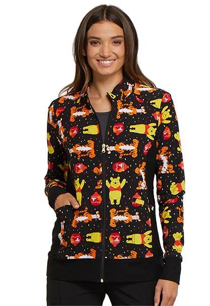 Zip Front Warm-Up Jacket