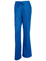 Relaxed Fit Back Elastic Flare Leg Pant