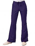 Maevn Fit Drawstring & Back Elastic Flare Leg Pant