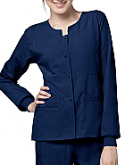 '4-Stretch' Y-Sporty Button Front Jacket