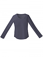 Jr. Fit Long Sleeve Crew Neck Tee