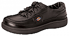 Leather Step In 'Breaktime' Black Size 9.5