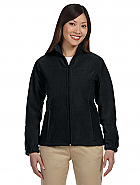 Ladies' 8 oz. Full-Zip Fleece w/ Logo Embroidery