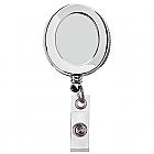 Premium All Metal Retracteze ID Badge Holder