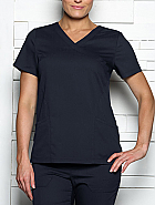 'DOLLFACE' Sporty Mock Wrap Top