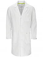"38"" Unisex Lab Coat w/ Antimicrobial + Fluid Barrier"