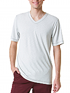 Men's Curved V-Neck Modal Knit Top