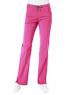 'EcoFlex' Half Back Elastic Waist Pant With Side Front Panel