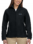 Ladies' Full-Zip Fleece Jacket w/ Logo Embroidery