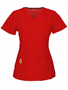 """Wrapped Up"" V-Neck Top w/ Antimicrobial"