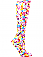 'Tiny Owls' Fashion Compression Sock 8-15 mmHg