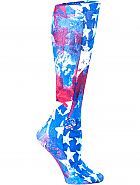 'Star Gazer RWB' Fashion Compression Sock 8-15 mmHg