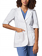 "28"" Short Sleeve Lab Coat"