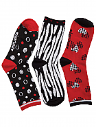 'THENEWCLASSIC' 3pr Pack of Crew Socks
