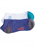 'CLOUDNINE' 2pr Pack of No Show Socks w/ Certainty Antimicrobial