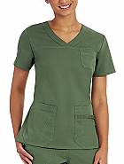 Barco NRG V-Neck Fitted Top