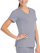 'Grey's Anatomy Active' Crossover V-Neck Top