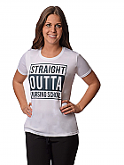 Straight Outta Nursing School Tee
