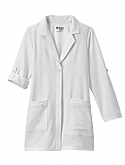 "Meta Pro Ladies 33"" Roll Up Sleeve Stretch Labcoat"