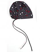 Unisex Bouffant Print Scrub Hat w/ Certainty Antimicrobial