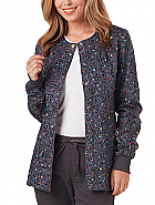 Warm-Up Print Jacket w/ Antimicrobial