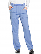 'Dynamix' Mid Rise Straight Leg Pull-on Pant