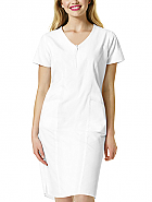 'The Whiskey' Partial Zip Front Dress